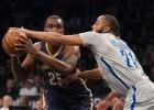 Los Pelicans se llevan el duelo de equipos bajo mínimos