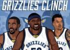 Ridículo de Houston en casa que clasifica a los Grizzlies