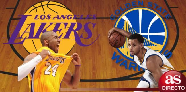 Warriors vs Memphis y la despedida de Kobe en directo y en vivo online