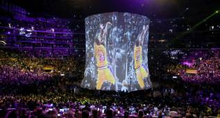 Se fue un mito: Los Ángeles se volcó para despedir a Kobe Bryant