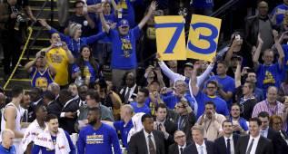 Récord superado: las imágenes de la victoria de los Warriors