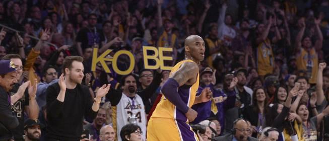 Kobe Bryant dice adiós a la NBA como un gigante: 60 puntos