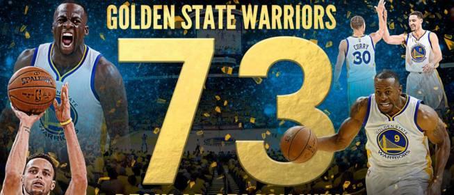 73-9: Goldern State Warriors cambia la histoia de la NBA