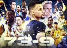 Cayó el récord: los Warriors firman la mejor temporada de la historia de la NBA: 73-9