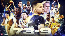 73-9: Golden State Warriors cambia la historia de la NBA