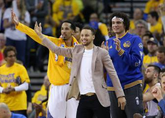 La máquina arrasa sin Curry: los Warriors están en 'semis'
