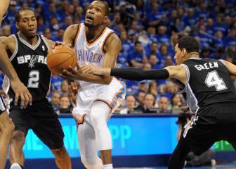 Spurs o Thunder, ¿quién es el favorito en las semifinales?
