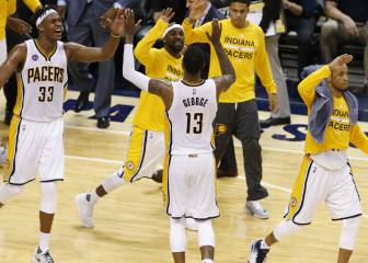 Los Pacers siguen vivos tras un 61-39 a Toronto en la 2ª parte