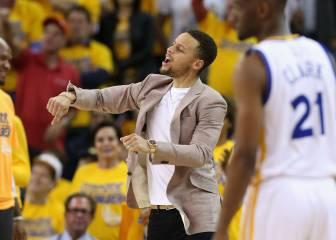 Curry pasa cinco horas al día rehabilitando la rodilla