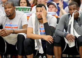 ¿Podrían las palizas llevar a Durant a jugar en los Spurs?