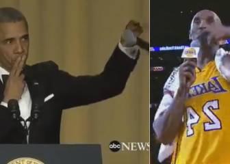 Barack Obama se despide a lo Kobe Bryant: