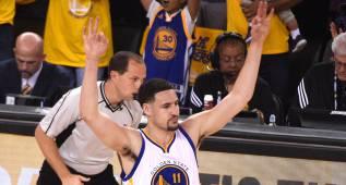 Klay Thompson bate un récord histórico de Stephen Curry
