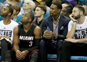 Fin al culebrón: Chris Bosh no jugará esta temporada