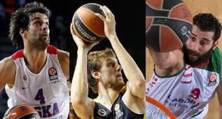 Bourousis y Ayón, 'españoles' en los mejores equipos de Euroliga