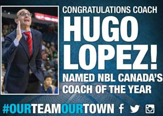 Hugo López, mejor técnico de la Liga de Canadá