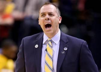 Frank Vogel, opción de New York Knicks para el banquillo