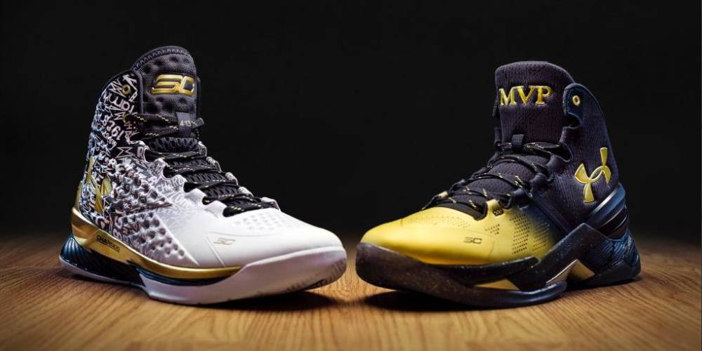 Under Armour: homenaje al MVP de Curry con estas zapatillas