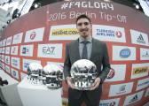 Nando de Colo, MVP de la Euroliga; Abrines, mejor joven