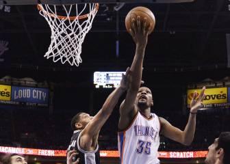 Durant, una pesadilla para San Antonio Spurs en Playoffs