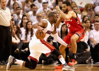 Toronto, a hacer historia; Wade, a reencontrarse con LeBron