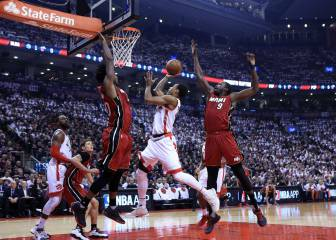 Toronto hace historia: a la final del Este con Lowry y DeRozan