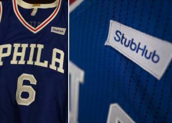 Sixers: primer equipo de la NBA con publicidad en su camiseta