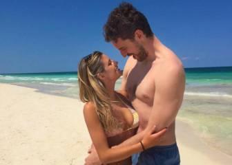 Gasol disfruta de las playas de México con su nueva novia