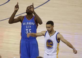 ¡OKC golpea primero! Brutal Westbrook y los Warriors, sin respuestas: 1-0 Thunder