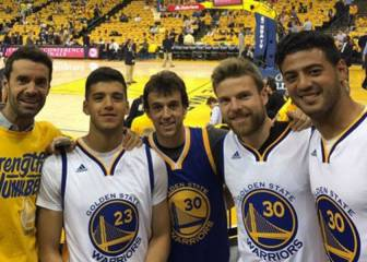 Rulli, Vela, Illarra... la Real animó a los Warriors de Curry