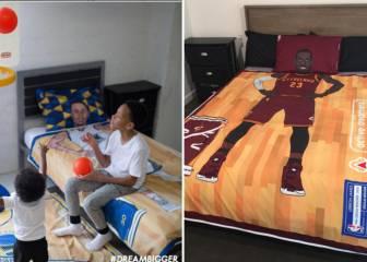 ¿Quieres dormir con Curry, Kobe, LeBron? Hazlo realidad