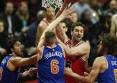 """Porzingis: """"Sería un honor jugar con Pau Gasol en los Knicks"""""""