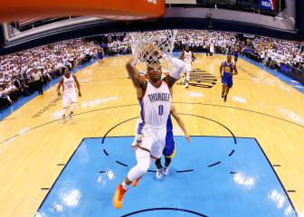 Westbrook y su barbaridad no vista en Playoffs en 47 años
