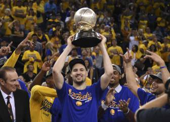Los Warriors, 10º equipo que remonta un 3-1 en Playoffs