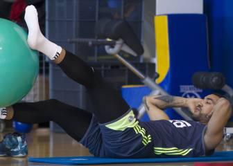 'No juego tanto como desearía, pero entreno duro, quiero más'