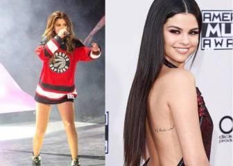 Selena Gómez se cambia de bando: de los Spurs a los Raptors