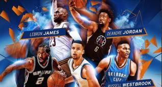 ¡Equipazo!: Curry, Westbrook, LeBron, Kawhi y DeAndre Jordan, en el quinteto ideal