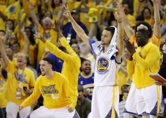 Curry resurge y los Warriors no se rinden: habrá sexto partido