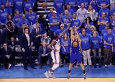 Klay Thompson fue el héroe: récord de triples en Playoffs