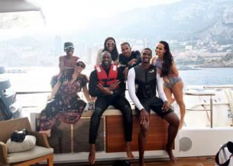 Bosh y Wade, de vacaciones en Mónaco con Lewis Hamilton
