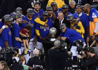 Así celebraron los Warriors el pase a las Finales de la NBA