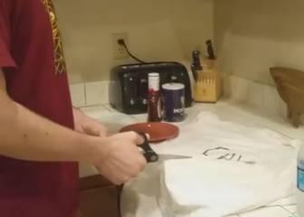 Un fan de Cavs se comió su camiseta con salsa barbacoa