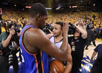 ¿Qué dijo Curry a Durant tras el séptimo partido de la final?