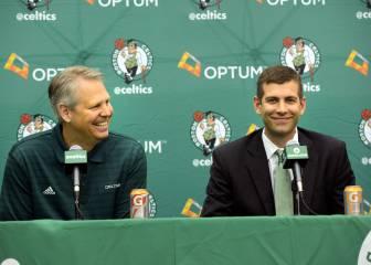 Boston Celtics amplía los contractos de Stevens y Ainge