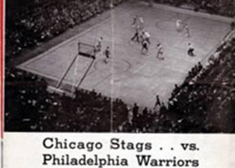 El primer título de la historia de la NBA fue para los Warriors