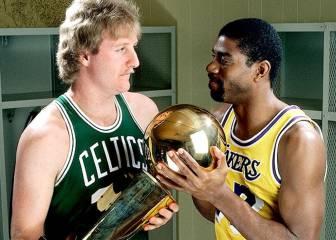 Bird vs Magic, cara a cara por primera vez en una final NBA
