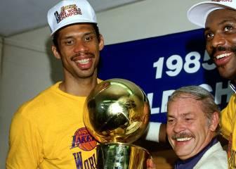 Es 1985: Kareem y los Lakers vencen en el Boston Garden