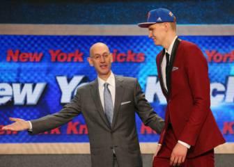 Jackson avisó a los Lakers: no elegir a Porzingis es un error