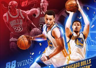 Warriors: superan otra vez a Jordan y nuevo récord histórico