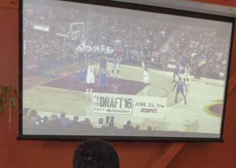 40 cámaras y 1.800 km de fibra: así llega la NBA a las casas