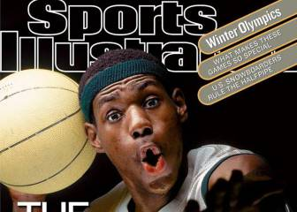 La historia de LeBron James a través de 25 portadas de Sports Illustrated